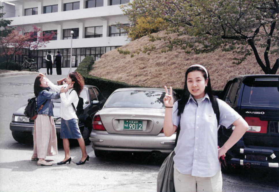 Young-Mi at college